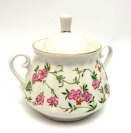 Flowering Sprigs Sugar Bowl with Lid