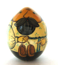 Easter Egg Dedushka's Lapti (Дедушкины Лапти) front view