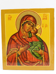 Tenderness Mother  of God Icon