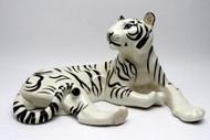 White Tiger from Lomonosov Porcelain Factory