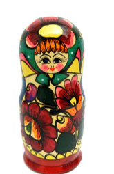 "Polkh ""Rainbow"" Matryoshka Doll"