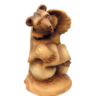Bear Scholar Bogorodsk Carving