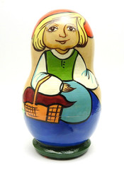 Little Red Riding Hood Matryoshka Doll