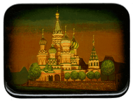 St. Basil Cathedral Miniature Painting