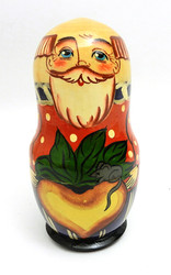 The Tale of the Giant Turnip (Репка) Matryoshka