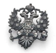 Russian Double Headed Eagle Lapel Pin EG-S