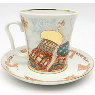 Church of the Savior on the Spilled Blood Mug and Saucer