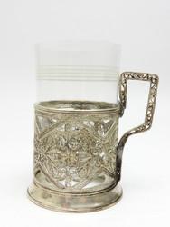 Vintage Mid-Century Kazakovo Tea Glass Holder