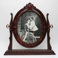 Portrait of NII and His Mother in Oval Frame