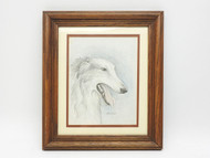 Pencil Drawing  Russian Borzoi