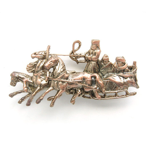 Antique Reproduction Troika Brooch