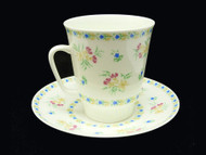 Bluebells Bone China Tea Cup and Saucer