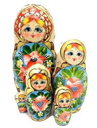 "Summer ""Potal"" Artistic Matryoshka Doll"