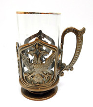 Double Headed Eagle Tea Glass Holder