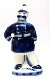 Policeman Wearing Sun Helmet (Милиционер)