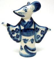 House Mouse (Домашняя мышка) Gzhel figure