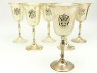 Wine Goblets Russian Double Headed Eagle  - IRAA