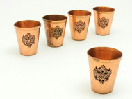 Copper Vodka Cups ( IRAA )
