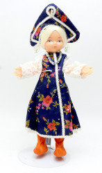 Girl in Traditional Costume Minstrel Doll