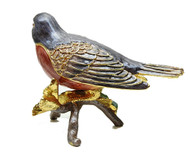 American Robin Jewelry Box