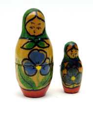 Mini Dollhouse Matryoshka Doll from Argentina