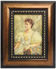 Painted Portrait Russian Tsarina Alexandra