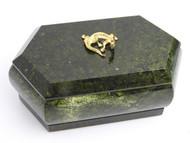 Malachite Queen Jewelry Box