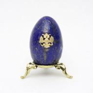 Imperial Russian  Eagle Egg Lapis  Lazuli
