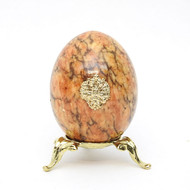 Marble Imperial Russian Eagle Egg M7