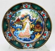 Springtime Splendor  Porcelain Plate