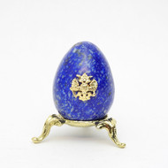 Imperial Russian Eagle Egg Blue 3