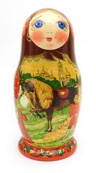 Konyok Gorbunok Artistic Fairy Tale Matryoshka Doll