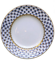 Cobalt Net European Dinner Plate