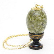 Serpentine Egg Pendant