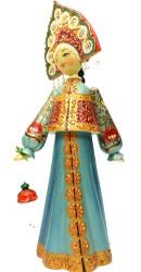 Nizhni Novgorod Costume Wooden Doll