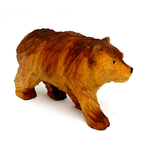 Brown Bear Carving
