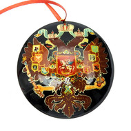 Russian Imperial Double Headed Eagle  Christmas Ornament