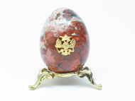 "Imperial Russian Eagle Egg ""Heaven and Earth"""