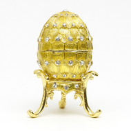 "Mini Romanov Gold Egg Box  [2½""]"