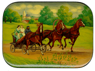 Trinity Day Miniature Painting
