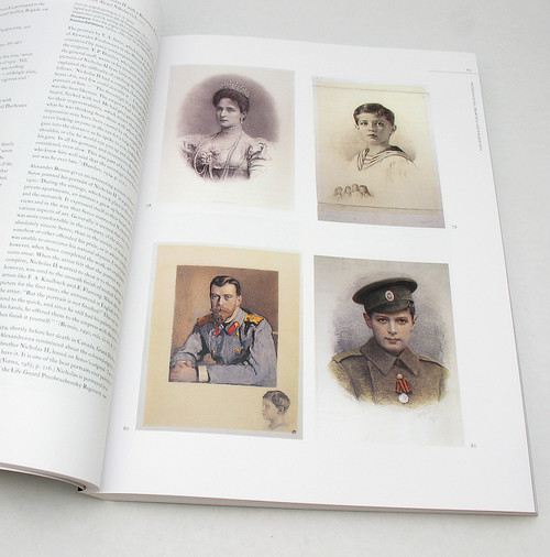 Artist's portraits of Alexandra, Nicholas, and Prince Alexei