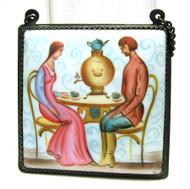 Tea Part Finift Painting