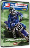 AMA Motocross Season Highlights 2007 DVD