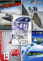 2017 Season Snowmobile DVD Value Pack