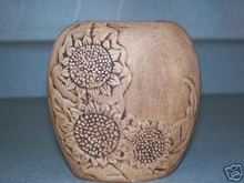Ceramic mold, D&R Pillow Vase-Sunflowers