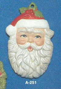 A-251 Santa Claus Face