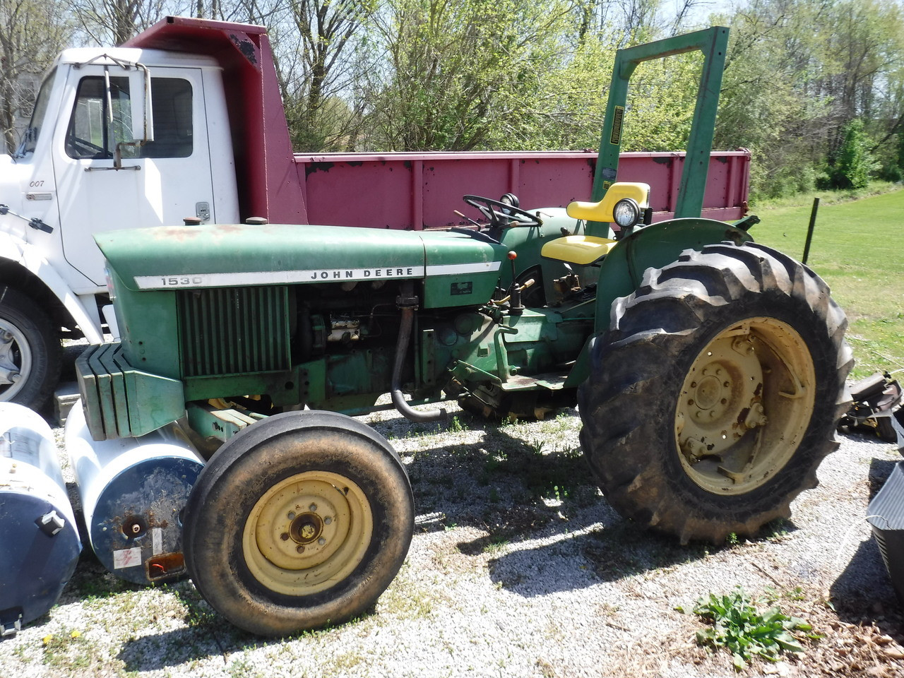 Cox Auto Salvage >> 1975 John Deere 1530 Tractor Nice Tractor Ready For Work!!