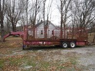 Stock Trailer ~~ 6 x 8 x 24 Foot Trailer ~~