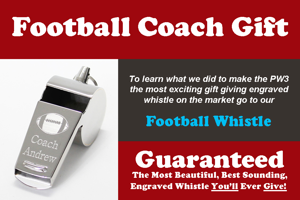All PW3 whistles come with The Screamer inside.  Sounds 1000 times better than all other engraved whistles.
