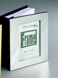 Personalized Chrome Photo Album With Picture On Front at Simply Irresistible